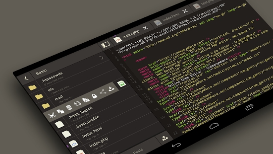 python ide for android