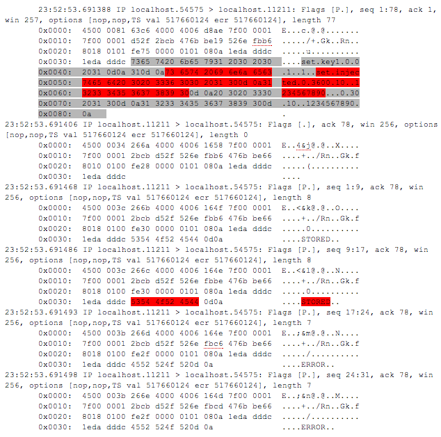 Example of the Unattended.xml file with saved data