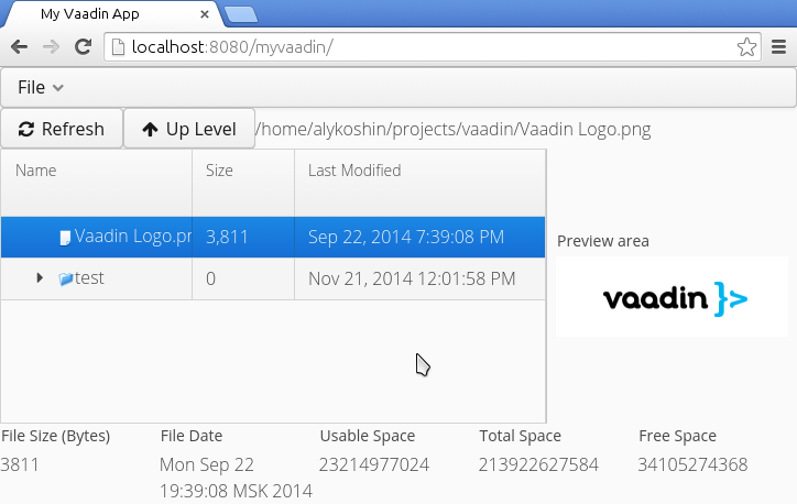 Prepare for Vaadin, an extremely powerful Java framework for