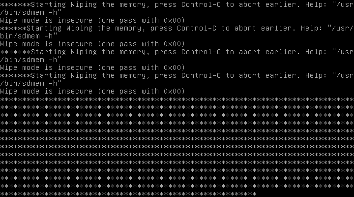 RAM overwrite