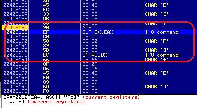 AntiVM in TorrentLocker