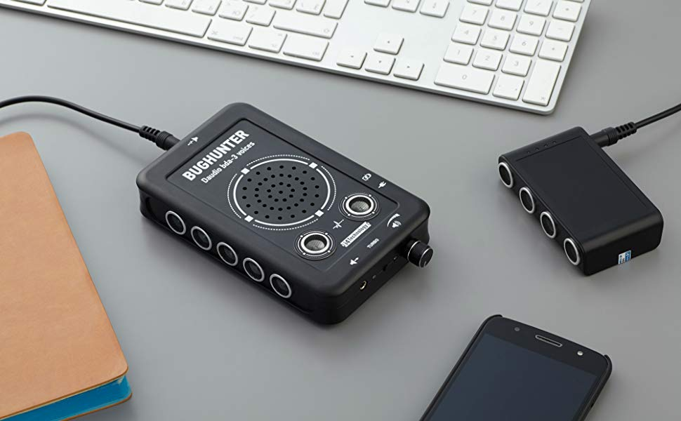 An advanced ultrasound noise generator dampening audio recording costs $900 on Amazon.com